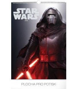Nástěnný kalendář Star Wars – Plakáty 2018