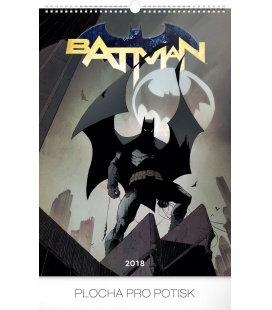 Nástěnný kalendář Batman – Plakáty 2018