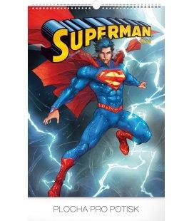 Nástěnný kalendář Superman – Plakáty 2018