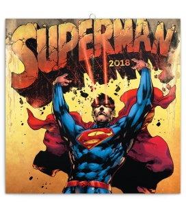 Nástěnný kalendář Superman 2018