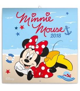 Nástěnný kalendář Minnie 2018