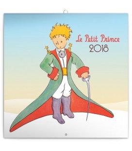 Nástěnný kalendář Malý princ (Le Petit Prince) 2018