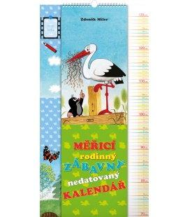 Nástěnný kalendář Krteček, měřící 2018
