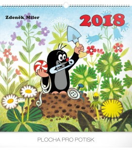 Nástěnný kalendář Krteček 2018