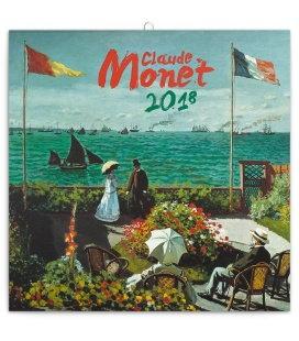 Nástěnný kalendář Claude Monet 2018