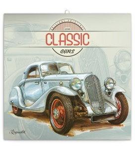 Nástěnný kalendář Václav Zapadlík – Classic Cars 2018