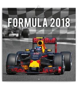 Nástěnný kalendář Formule – Jiří Křenek 2018