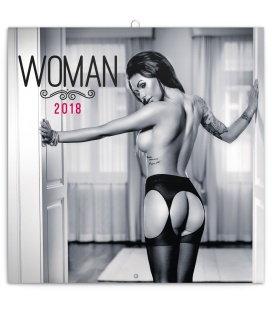 Nástěnný kalendář Woman – Martin Šebesta 2018