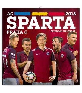 Nástěnný kalendář AC Sparta Praha 2018
