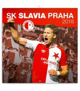 Nástěnný kalendář SK Slavia Praha 2018