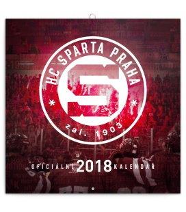 Nástěnný kalendář HC Sparta Praha 2018