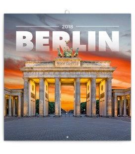 Nástěnný kalendář Berlín 2018