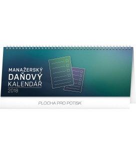Tischkalender Manažerský daňový 2018
