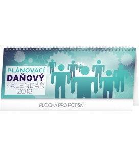 Stolní kalendář Plánovací daňový 2018