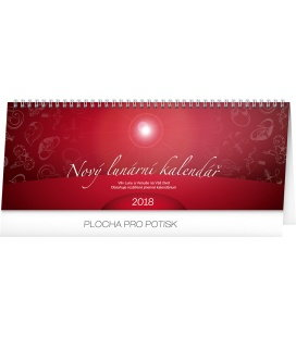 Stolní kalendář Nový lunární kalendář 2018