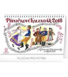 Stolní kalendář Písničkový kalendář 2018