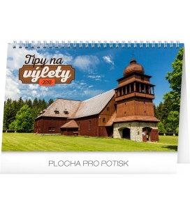 Stolní kalendář Tipy na výlety SK 2018