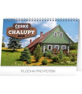 Tischkalender České chalupy 2018