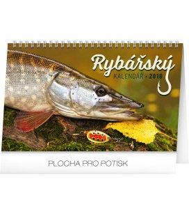 Stolní kalendář Rybářský kalendář 2018
