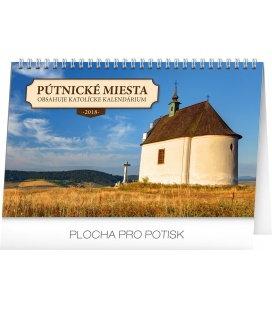 Stolní kalendář Pútnické miesta v SR SK 2018