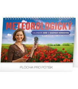 Stolní kalendář Meteorologický s Dagmar Honsovou 2018