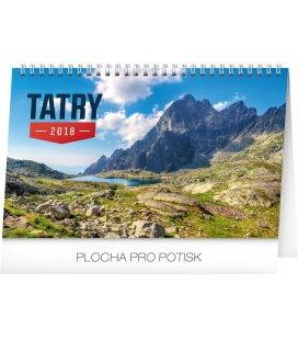 Stolní kalendář Tatry SK 2018