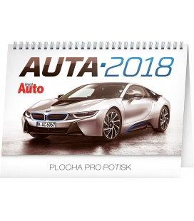 Table calendar Auta 2018