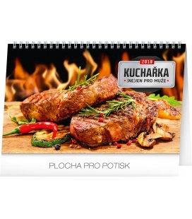 Table calendar Kuchařka (ne)jen pro muže 2018