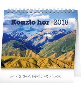 Stolní kalendář Kouzlo hor 2018