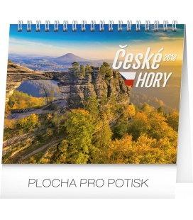 Stolní kalendář České hory 2018