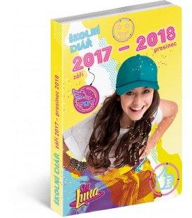 Diář školní Soy Luna (září 2017 – prosinec 2018) 2018