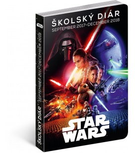 Diář školní Star Wars Classic SK (september 2017 – december 2018) 2018