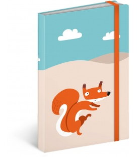 Notebook Wild Tail Mini, lined 2018
