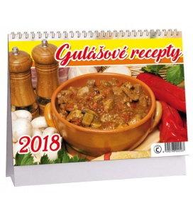 Tischkalender Gulášové recepty 2018