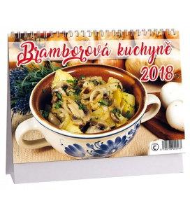 Stolní kalendář Bramborová kuchyně 2018