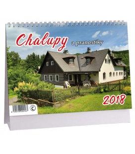 Stolní kalendář Chalupy a pranostiky 2018