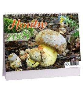 Stolní kalendář Houby 2018