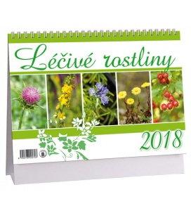Stolní kalendář Léčivé rostliny 2018