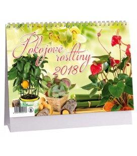 Stolní kalendář Pokojové rostliny 2018