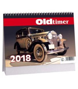 Stolní kalendář Veteráni - Oldtimer 2018