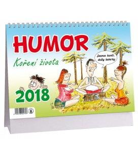 Stolní kalendář Humor, koření života 2018
