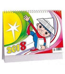 Stolní kalendář Večerníček 2018