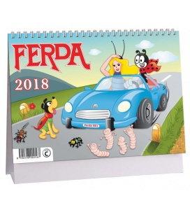 Table calendar Ferda 2018