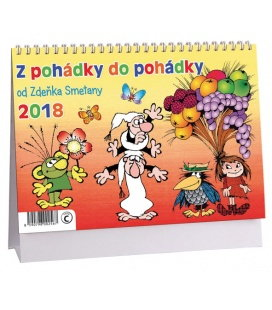 Stolní kalendář Z pohádky do pohádky 2018