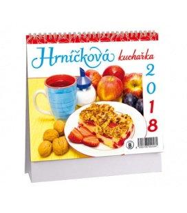 Tischkalender Hrníčková kuchařka MINI 2018
