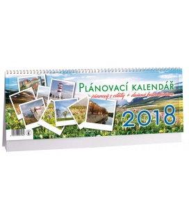 Stolní kalendář Žánrový plánovací s citáty 2018