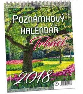 Nástěnný kalendář Trhací 2018