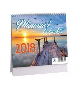 Stolní kalendář Plánovací MINI 2018
