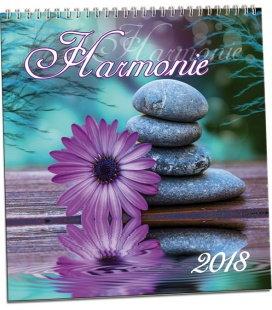 Nástěnný kalendář Harmonie 2018