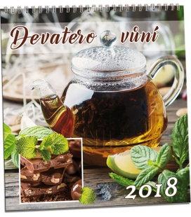Nástěnný kalendář Devatero vůní 2018
